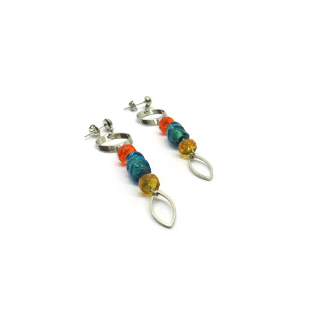 70% off - Murano Glass Earrings Mod. Lucy