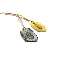 70% off - Murano Glass Pendant, Mod. Gianna, 5x3 cm (Available in Ass. Colours)