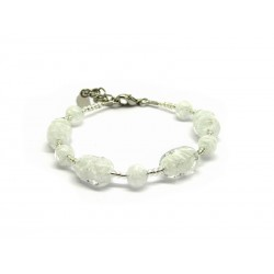 70% di Sconto - Bracciale in perle di Murano, Mod. Altinia (Disponibile in 3 Colori)