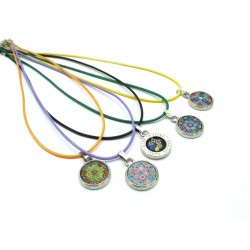Murano Glass Necklace - Mod. Paolina, 43 cm (Available in 10 assorted color)