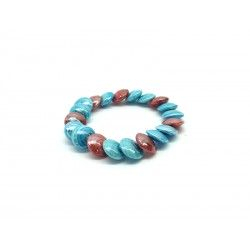 Murano Glass Bracelet - Mod. Monica, 21 cm (Available in 3 Colours)