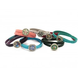 Murano Glass Bracelet - Mod. Mauri, 40 cm (Available in 10 assorted Colours)