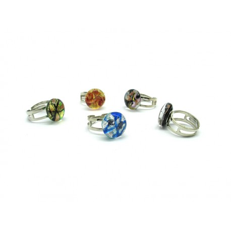 Ring in Murano Glass - Mod. Passione (Available in 10 assorted Colours)