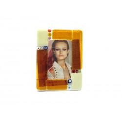 Porta Foto in Vetro di Murano 9x12 cm