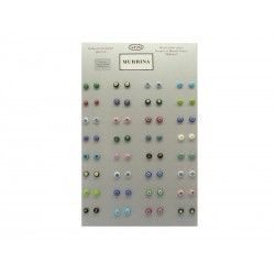 Exhibitor to Showcase for Millecolori Earrings 32 Pcs.