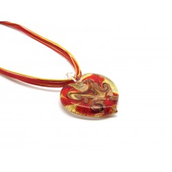 Murano Glass Necklace - Mod. Romantica, 45 cm (Available in 5 Colours)
