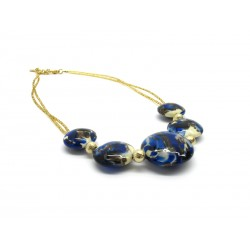 Murano Glass Necklace - Mod. Vittoria, 45 cm (Available in 5 Colours)