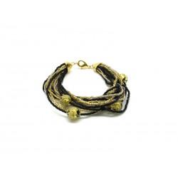 Bracciale in Vetro di Murano - Mod. Jessica, 21 cm (Disponibile in 6 Colori)