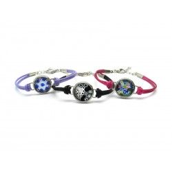 Murano Glass Bracelet - Mod. Paolina, 21 cm (Available in assorted Colurs)