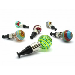 Bottle Stopper in Murano Glass, 90x40 mm (Available in assorted Colours)