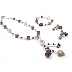 Murano Glass Set Mod. Caravella- 50 cm (Available in 4 assorted Colours)