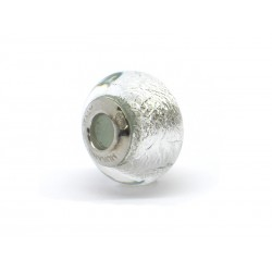 Pandora Style Bead (Mod. FA51) in authentic Murano Glass and 925 Italian Sterling Silver