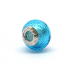 Pandora Style Bead (Mod. FA53) in authentic Murano Glass and 925 Italian Sterling Silver