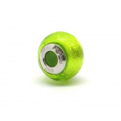 Pandora Style Bead (Mod. FA66) in authentic Murano Glass and 925 Italian Sterling Silver