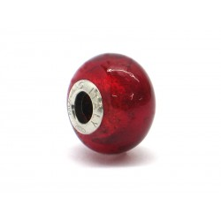 Pandora Style Bead (Mod. FO94) in authentic Murano Glass and 925 Italian Sterling Silver