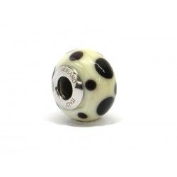 Pandora Style Bead (Mod. AV2) in authentic Murano Glass and 925 Italian Sterling Silver