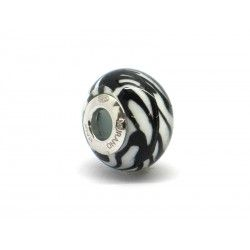 Pandora Style Bead (Mod. RTG2) in authentic Murano Glass and 925 Italian Sterling Silver