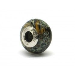 Pandora Style Bead (Mod. RST6) in authentic Murano Glass and 925 Italian Sterling Silver