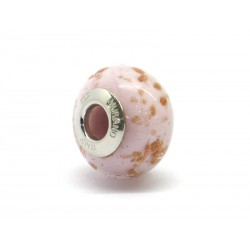 Pandora Style Bead (Mod. RAM8) in authentic Murano Glass and 925 Italian Sterling Silver
