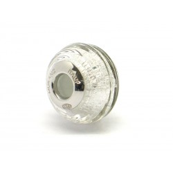 Pandora Style Bead (Mod. FARIG51) in authentic Murano Glass and 925 Italian Sterling Silver