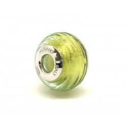 Pandora Style Bead (Mod. FARIG86) in authentic Murano Glass and 925 Italian Sterling Silver