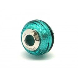 Pandora Style Bead (Mod. FARIG59) in authentic Murano Glass and 925 Italian Sterling Silver
