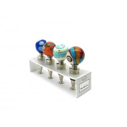 Exhibitor to Showcase for Wine Bottle Stopper 4 Pieces