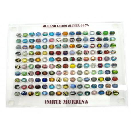 Espositore per Murrine 71 pezzi Misure Assortite
