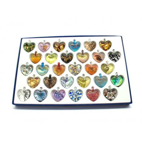 Exhibitor to Showcase for Millefiori Pendants 71 Pcs (48x28x2cm)