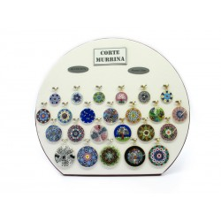 Exhibitor to Showcase for Millefiori Pendants 24 Pieces