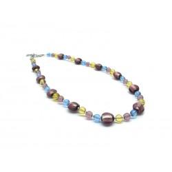 70% off - Murano Glass Necklace, Mod. Adige (45 cm)