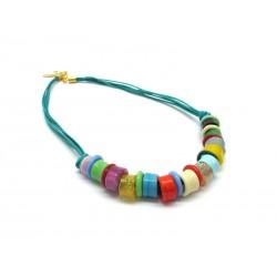 70% di Sconto - Collana in perle di Murano, Mod. Lunapark