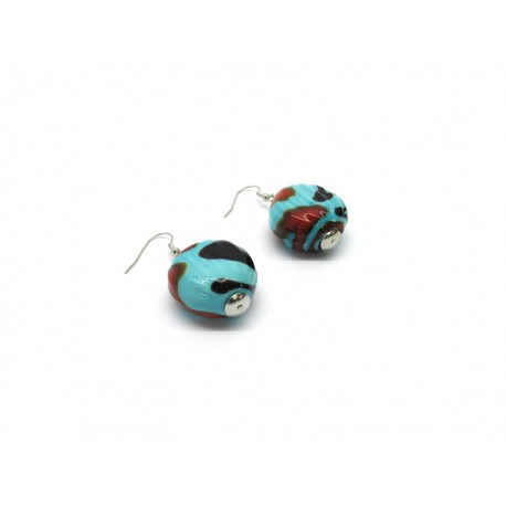 70% off - Murano Glass Earrings Mod. Sahara
