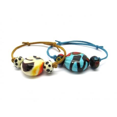 70% off - Murano Glass Bracelet Mod. Sahara