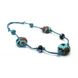 70% off - Murano Glass Necklace, Mod. Sahara