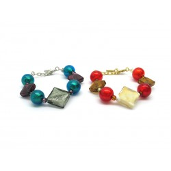 70% di Sconto - Bracciale in perle di Murano, Mod. Alderi
