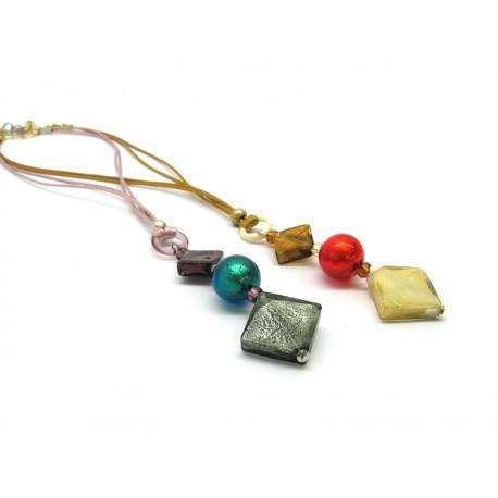 70% di Sconto - Collana in perle di Murano, Mod. Alderi
