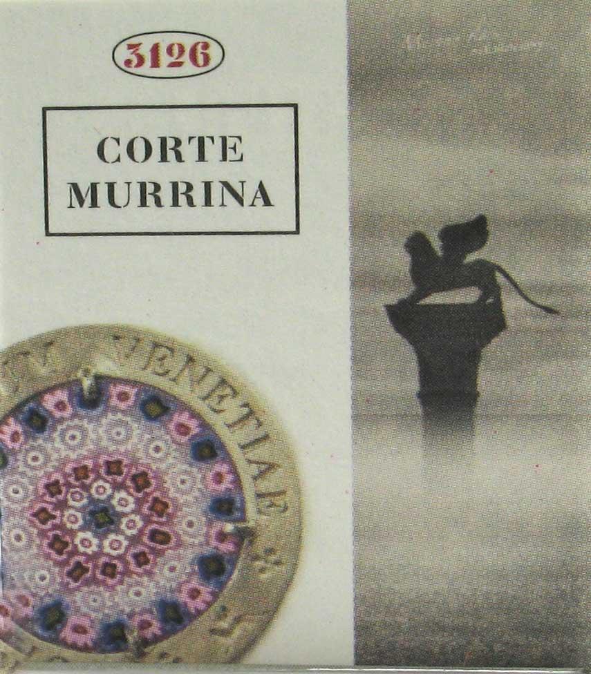 Murrina certificato di Garanzia