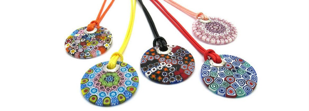 Murano Glass Necklace - Mari