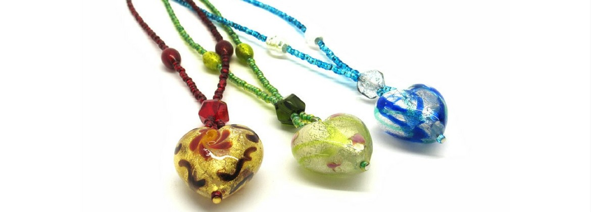 Murano Glass Necklace - Giulia