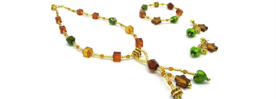 Murano Glass Necklace - Caravella
