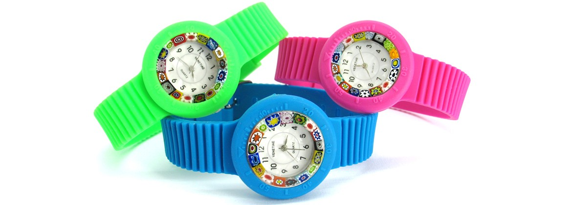 Murano Watch - Carnevale