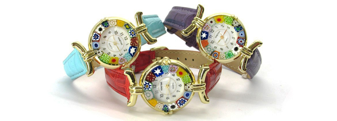 Murano Glass Watches - Lady